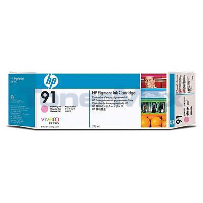 HP NO 91 INK LIGHT MAGENTA 775-ML